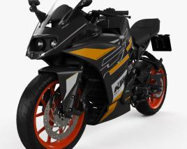KTM RC 125 2020 3D model