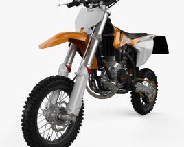 3D model of KTM SX50 2016