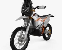 3D model of KTM 450 Rally 2021