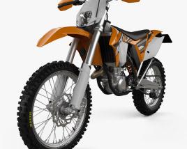 3D model of KTM EXC 450 2014