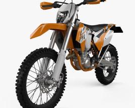 KTM EXC 450 2016 3D model
