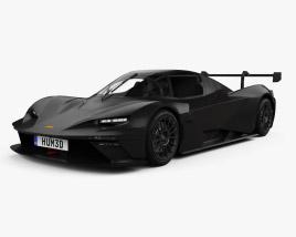 3D model of KTM X-Bow GTX 2020