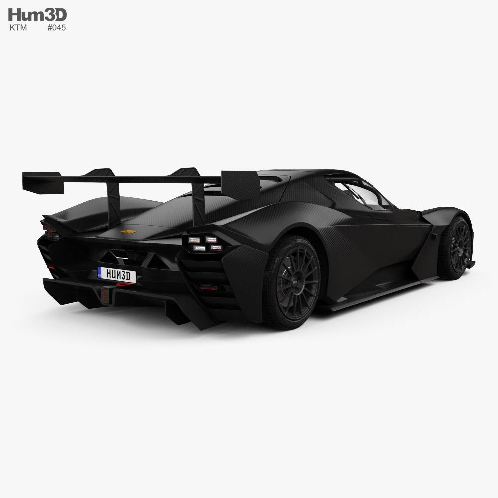 KTM X-Bow GTX 2020 3d model