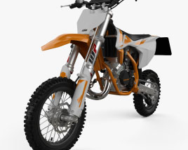 KTM SX50 2019 3D model