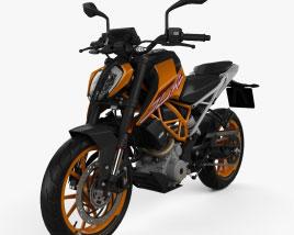 KTM 390 Duke 2020 3D model