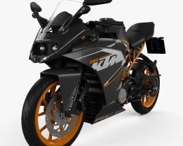 KTM RC 200 2014 3D model