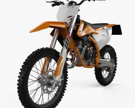 KTM SX85 2018 3D model