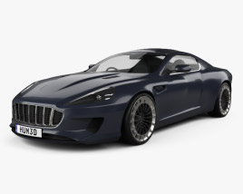 3D model of Kahn Design WB12 Vengeance 2015