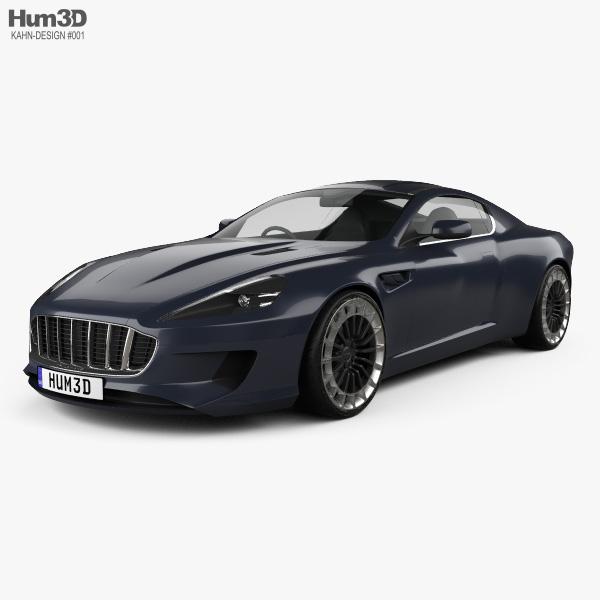 3D model of Kahn Design WB12 Vengeance 2015