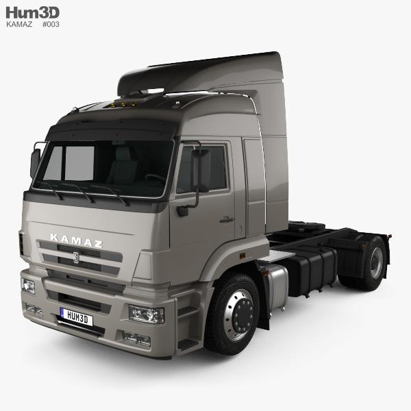 KamAZ 5460 Tractor Truck 2010 3D model