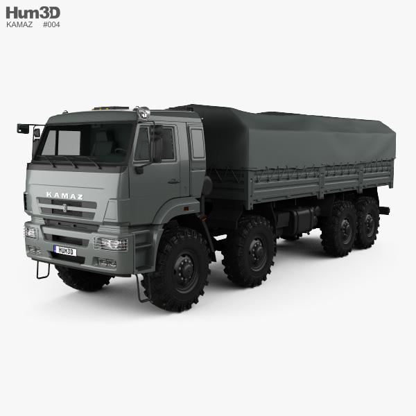 Kamaz 63501 Mustang Truck 2011 3D model