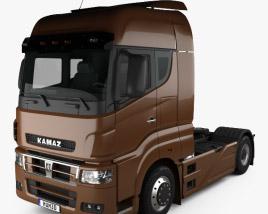 3D model of KamAZ 5490 S5 Tractor Truck 2014