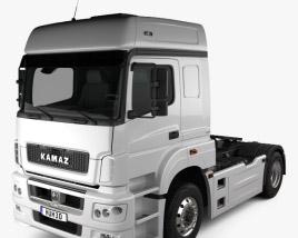 3D model of KamAZ 5490 T5 Tractor Truck 2015
