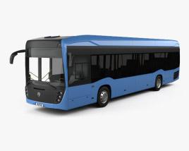 3D model of KamAZ 6282 Bus 2018
