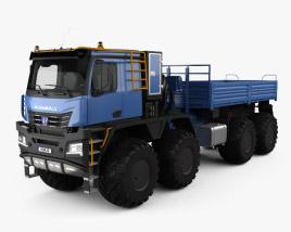 3D model of KamAZ 6355 Arctica Truck 2019