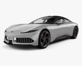 3D model of Karma Pininfarina GT 2020