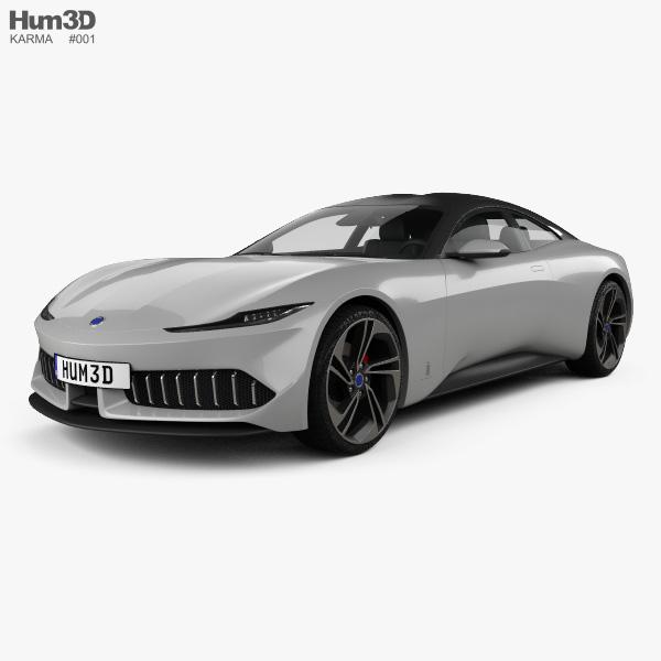 Karma Pininfarina GT 2020 3D model