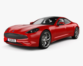 3D model of Karma Revero GT 2020