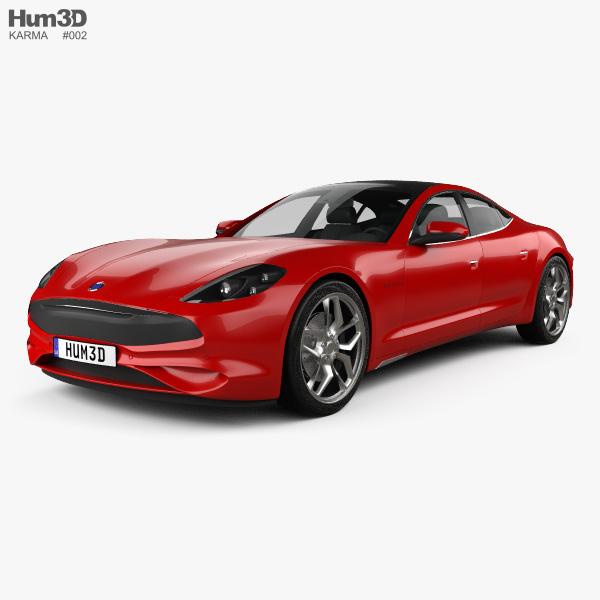 3D model of Karma Revero GT 2020