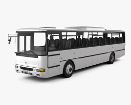 3D model of Karosa Recreo C 955 Bus 1997