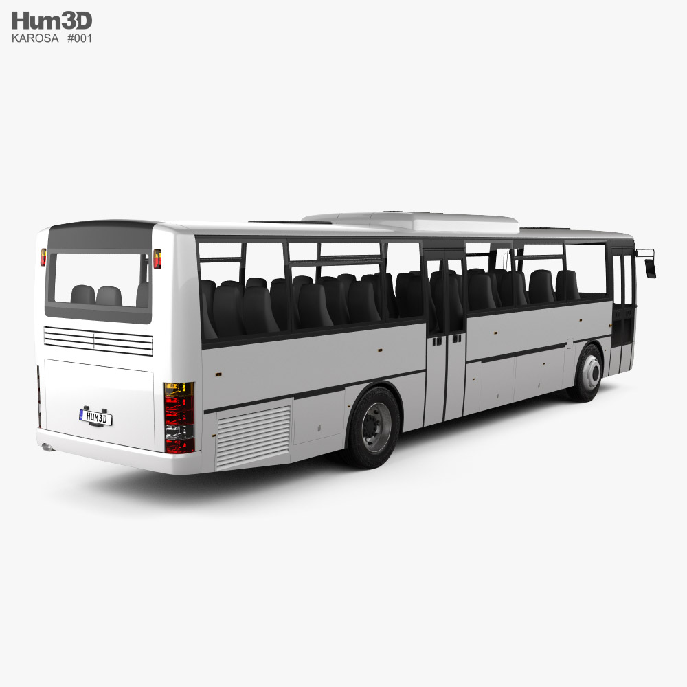 Karosa Recreo C 955 Bus 1997 3d model