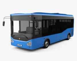 3D model of Karsan Atak Bus 2014