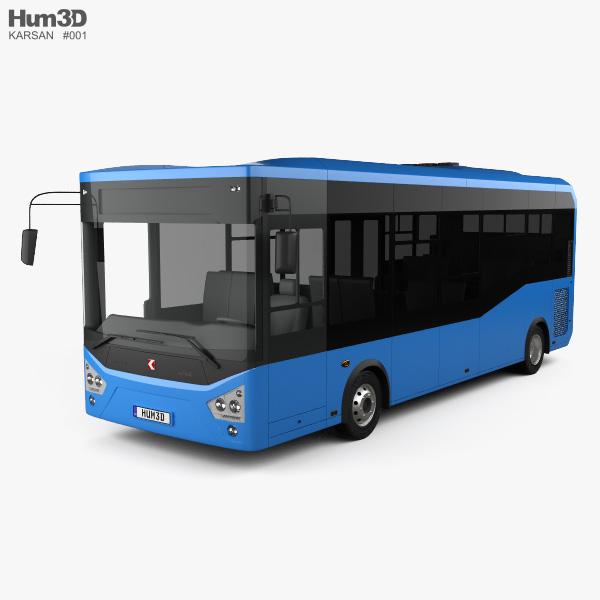 3D model of Karsan Atak Bus 2014