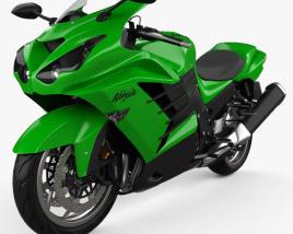 Kawasaki Ninja ZX-14R 2012 3D model