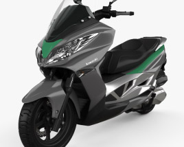 3D model of Kawasaki J300 2014