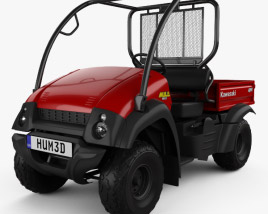 3D model of Kawasaki MULE 610 2014