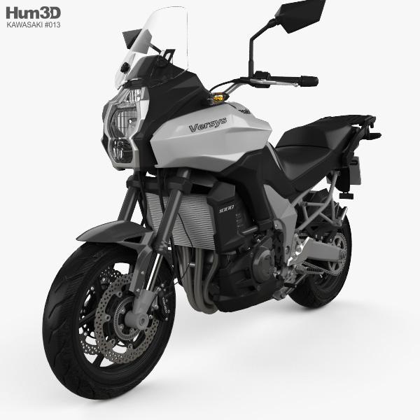 3D model of Kawasaki Versys 1000 2014