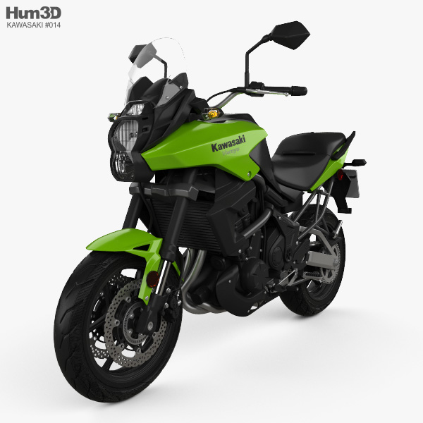 3D model of Kawasaki Versys 2014