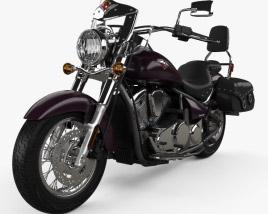 Kawasaki Vulcan 900 Light Tourer 2014 3D model