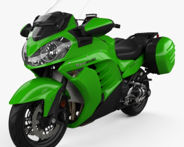 3D model of Kawasaki Concours 14 2015