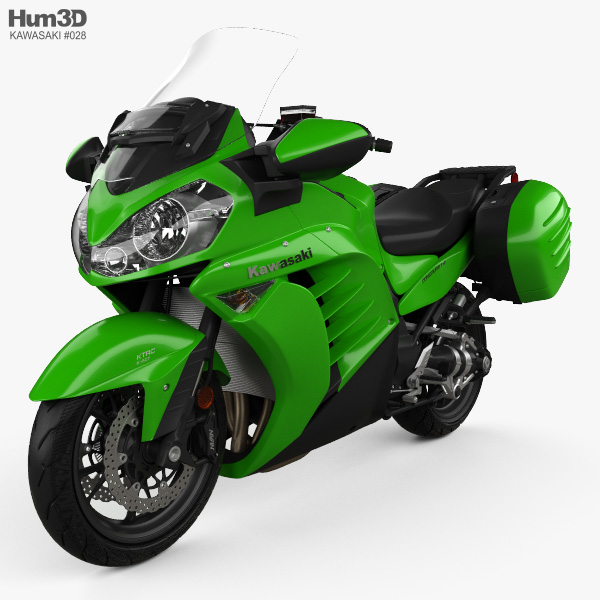 Kawasaki Concours 14 2015 3D model