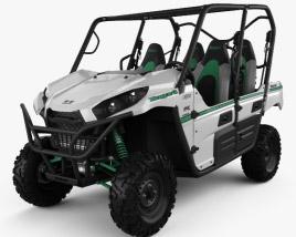 3D model of Kawasaki TERYX4 2016