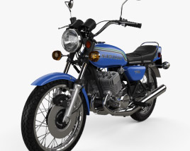 3D model of Kawasaki 750 H2 1972