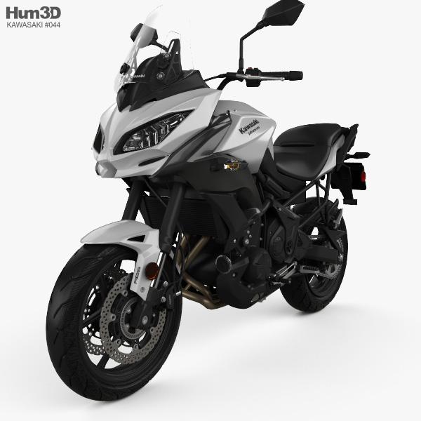 3D model of Kawasaki Versys 650 2018