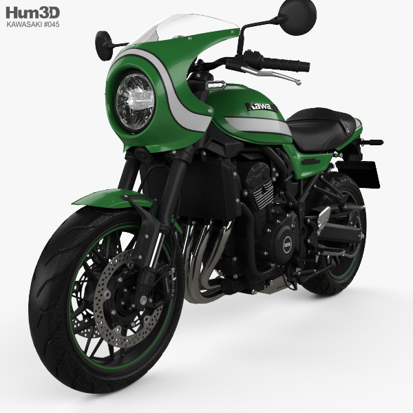 Kawasaki Ninja Z900RS Cafe 2018 3D model