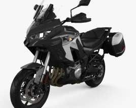 3D model of Kawasaki Versys 1000 SE LTplus 2019