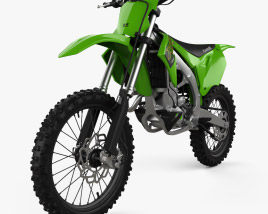 3D model of Kawasaki KX450 2020
