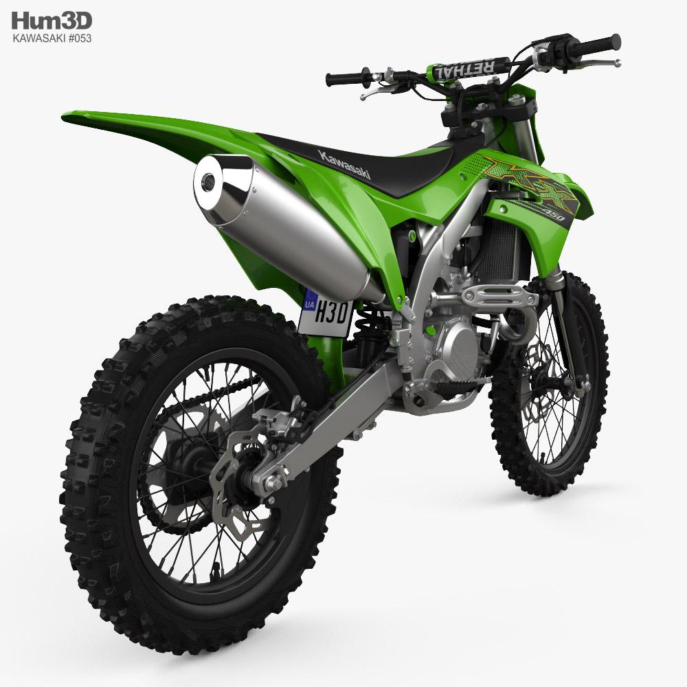 Kawasaki KX450 2020 3d model