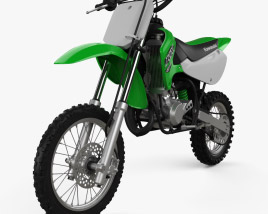 3D model of Kawasaki KX65 2020