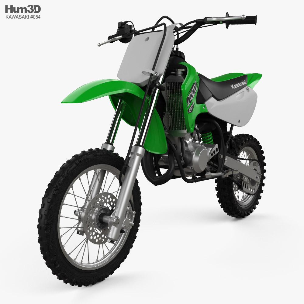 Kawasaki KX65 2020 3D model