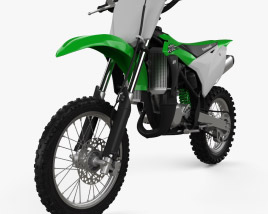 3D model of Kawasaki KX85 2020