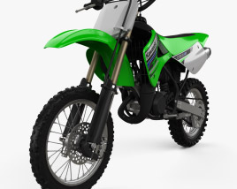 3D model of Kawasaki KX85 1998