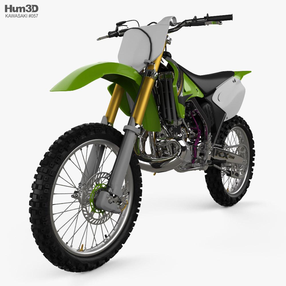 Kawasaki KX250 2003 3D model