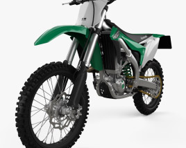 3D model of Kawasaki KX450F 2016
