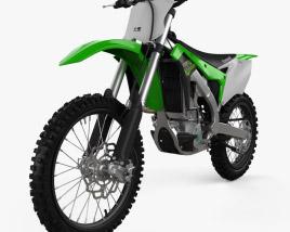 Kawasaki KX250F 2017 3D model