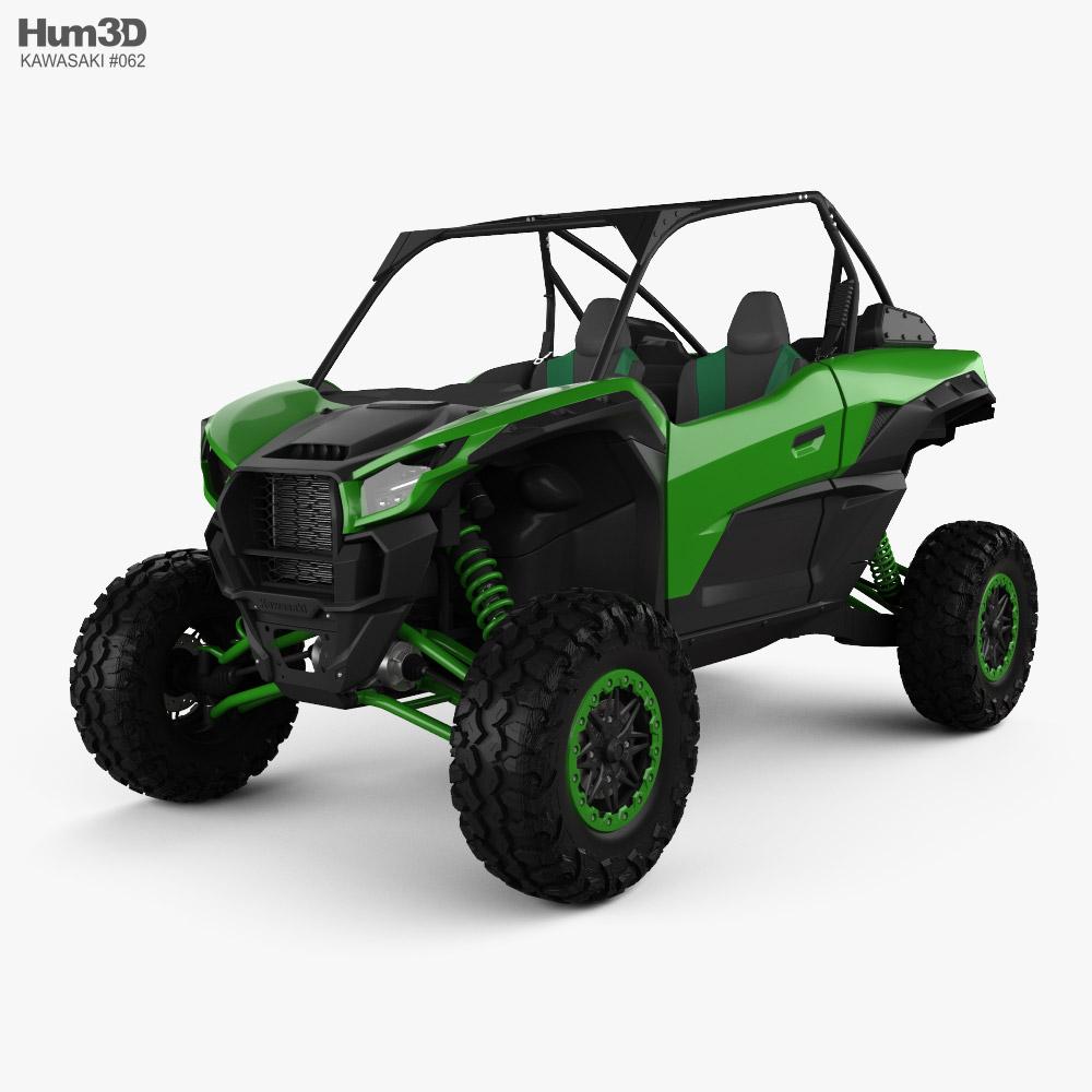 Kawasaki Teryx KRX 1000 2021 3D model